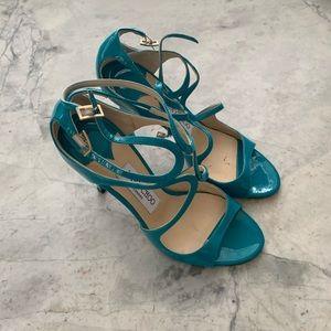 Jimmy Choo IVETTE high heel sandal — Aqua